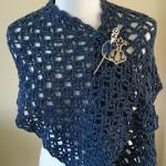 Flash of Evening Chill Shawl by Crochet Addict
