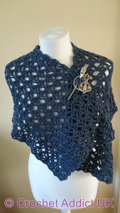 Flash of Evening Chill Shawl by Crochet Addict