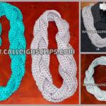 Chunky Braided Cowl ~ Elisabeth Spivey – Calleigh's Clips & Crochet Creations