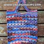 Sunrise Market Tote ~ Elisabeth Spivey - Calleigh's Clips & Crochet Creations
