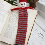 Christmas Santa Bookmark by DROPS Design