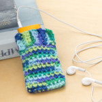 iPod Cozy ~ Becky Barker – Red Heart