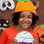Crochet Pumpkin Hat ~ Kathleen Sams - Red Heart