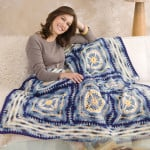 Artisan Throw by Ann Regis for Red Heart