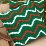 Christmas Ripple Pillows by Marianne Forrestal for Red Heart