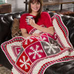 Snowflake Throw ~ Jessie Rayot – Red Heart