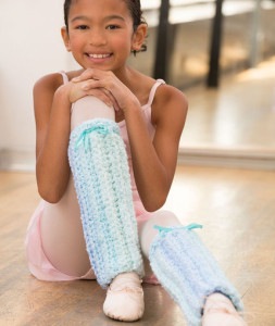 Perfect Point Leg Warmers ~ Salena Baca - Red Heart