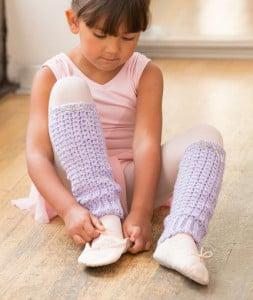 Joy of Dance Leg Warmers ~ Salena Baca - Red Heart