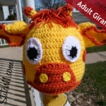 Adult Giraffe Hat ~ Stitch11