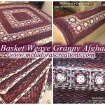 Basket Weave Granny Afghan by Meladora's Creations