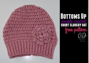 Bottoms Up DC Short Slouchy Hat ~ Oombawka Design