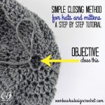 Simple Closing Method for Hats and Mittens ~ Oombawka Design