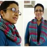 Cables & Stripes Cowl ~ Diane Hunt – Cre8tion Crochet