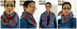 Cables & Stripes Cowl ~ Diane Hunt - Cre8tion Crochet