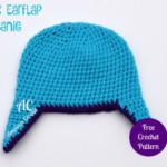 Child's Earflap Beanie ~ American Crochet