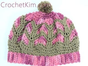 Chocolate Strawberries Beanie ~ Kim Guzman - CrochetKim