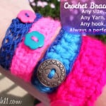 Crochet Bracelet for Everyone ~ Stitch11