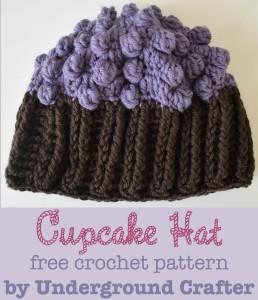 Cupcake Hat by Marie Segares/Underground Crafter