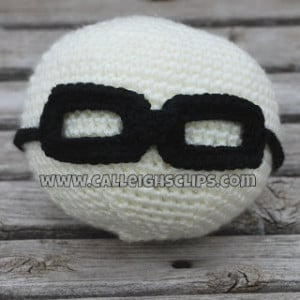 Tie Back Glasses NB Prop ~ Elisabeth Spivey - Calleigh's Clips & Crochet Creations