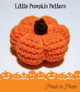 Little Pumpkin Crochet Pattern ~ Petals to Picots