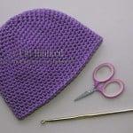 Basic Single Crochet Beanie ~ Crochet Treasures