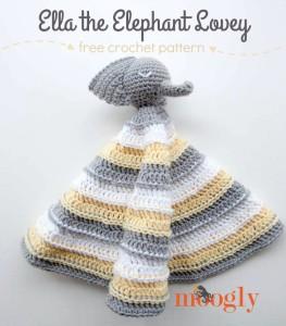 Ella the Elephant Lovey ~ Moogly