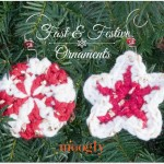Fast & Festive Crochet Christmas Ornaments by Moogly
