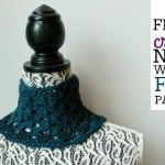 Fitted Crochet Neck Warmer ~ Oombawka Design