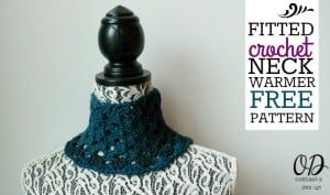 Fitted Crochet Neck Warmer ~ Oombawka Design