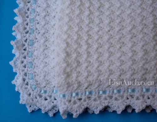 Little Clouds Baby Blanket ~ FREE Crochet Pattern