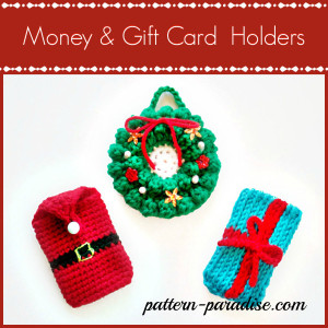 Money & Gift Card Holders ~ Pattern Paradise
