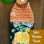 Give Thanks Towel Topper ~ American Crochet