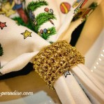 Festive Napkin Rings by Pattern Paradise