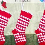 Houndstooth Mini Stocking ~ Erangi Udeshika – Crochet For You