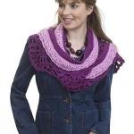 Layered Scarf ~ Kim Guzman – CrochetKim