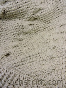 Nautical Waves Throw ~ Kim Guzman - CrochetKim