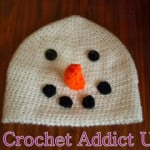 Snowman Beanie ~ Crochet Addict
