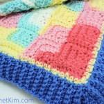 Patchwork Baby Blanket ~ Kim Guzman - CrochetKim