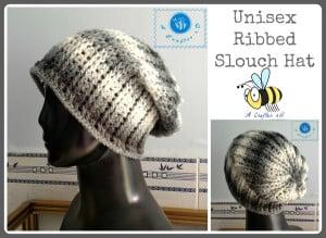 Unisex Ribbed Slouch Hat ~ Maz Kwok's Designs