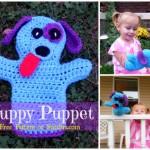 Dog Puppet by Stitch11