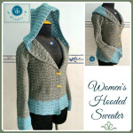 Hooded Sweater by Maz Kwok's Designs