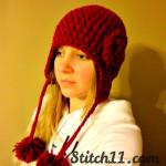 Blossom Earflap ~ Stitch11
