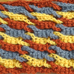 Single Weave and Link Stitch ~ Meladora's Creations