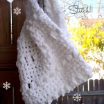 Warm Snow Cowl ~ Stitch11