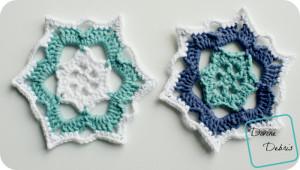 Snowflake Coasters by Divine Debris
