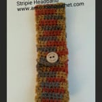 Stripie Headband ~ American Crochet