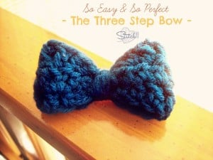 The Three Step Bow by Stitch11