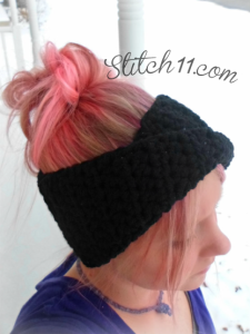 Turban for Miss Happy ~ Stitch11