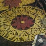 Christmas Poinsettia Doily by MomsLoveOfCrochet
