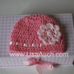 Double Crochet Baby Beanie 12-18 months ~ Free Crochet Patterns and Designs by LisaAuch